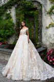 La dentelle Champagne cocktail robe de bal robes de mariée robe de mariée de Prom