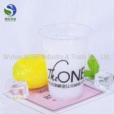 La alta calidad 20oz disponible borra las tazas plásticas de la bebida fría del animal doméstico con la tapa de la bóveda