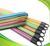Vara de madeira revestida Eco-Friendly do PVC de 120cm para a vassoura