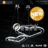 La nueva iluminación de araña de cristal candelabro contemporáneo (OM55002-1)
