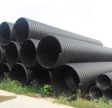 Tubo ondulato a spirale di rinforzo dell'HDPE Sn8 1000mm della fascia d'acciaio
