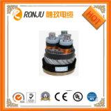 35kv XLPE 절연제 PVC 칼집 고압선