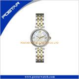 Reloj de las mujeres de la dial del modelo de flor del diamante del necio