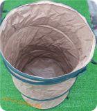 Materieel pvc duikt de Bladeren die van de Tuin op Vuilniszak verzamelen
