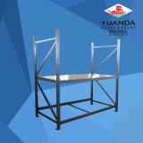 Грузовой склад оборудования в стек для тяжелого режима работы для установки в стойку стеллаж для хранения