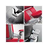 Eindeutiger schwarzer Herrenfriseur-Stuhl-hydraulischer Funktions-Mann-Herrenfriseur-Stuhl