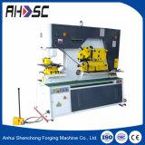 máquina hidráulica de perfuração e de corte de 120t da máquina da multi finalidade do Ironworker