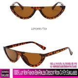 18009 Lady New Fashion Semi-Rimless lua em quarto crescente Cat-Eye óculos de sol