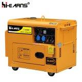 5000 와트 침묵하는 디젤 엔진 발전기 (DG6500SE)