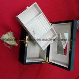 Zubehör-Schmucksache-faltbarer Geschenk-Kasten-dekorativer hölzerner Schmucksache-Kasten