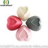 L'Anhui Bio FDA bol forme de coeur Rouge Gris Blanc de la sécurité sans BPA Fibre de bambou Rose bol de soupe