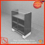 Schuh-Speicher-beweglicher hölzerner Tisch-Oberseite-Produkt-Bildschirmanzeige-Regal-Schaukasten