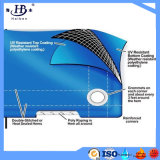Lona impermeable revestida modificada para requisitos particulares PVC hermética Tarps