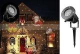 Weihnachtsschneeflocke-wasserdichter Projektions-Licht-Garten-Rasen-dekorative Lampe für Partei