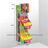 Visualización Point of Sale del cartón del compinche de la visualización de la cartulina de la impresión roja con la percha para los regalos de los niños