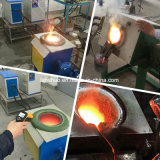 графитовый тигель 50kg опрокидывая печь меди плавя