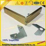 Perfil de aluminio para el marco de la foto con color bronceado anodizado