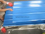 Volles hartes PPGI gewölbtes Metalldach-Blatt für Verkauf