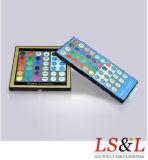 コントローラとの装飾の照明のためのRGB LEDのストリップストリング黒ライト