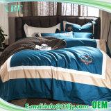 Het comfortabele Enige Marineblauwe Beddegoed van de Koning 4PCS