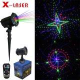 Het waterdichte Licht van de Laser van de Tuin voor Partij met Spreker Bluetooth