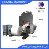 Quentes automáticos e laminam a máquina de estratificação com unidade de guiamento do Web (XJFMR-165)