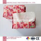 Tissus faciaux non tissés en coton, lingettes sèches avec haute qualité, prix usine