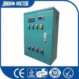 Cabina de control eléctrica del PLC