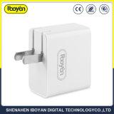Portátil de viaje solo USB cargador de pared para teléfono móvil