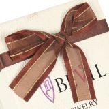 Coração de seda papel de formato caixa de embalagem de alimentos para o chocolate