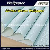Nuevo diseño 2017 que graba el papel pintado no tejido hermoso los 53cm*10m