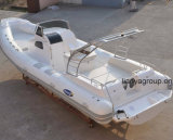 Bateaux de luxe de côte de bateau de taxi de l'eau de personnes de Liya 8.3meter 20