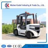 Kudat 3ton 3m Diesel-Gabelstapler hydraulisch mit seitlichem Schieber
