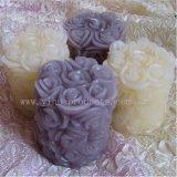 Vela pilar da flor do Círio de Artesanato