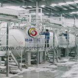 Baumwollspandex-Polyester-Milch Faser gestricktes Peached Gewebe für Gewebe (GLLML361)