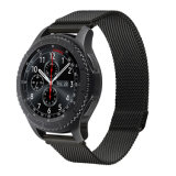 Imán de alta calidad de 22mm bucle milanés Watch Band Marcha para Samsung S3