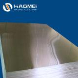 Chapa de aluminio intercalado con papel o película de PVC cubierto