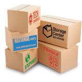 Papel grosso caixa de expedição de papelão ondulado Kraft