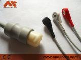 Compatible One-Piece Philips M1733UN CABLE DE ECG con Snap, Aha