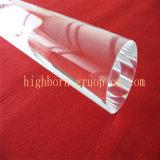 Haste de quartzo transparente fundidas alta
