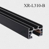 Blanco/Negro/Gris aluminio Color de la barra de vía férrea de la luz de la vía de los LED