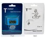 Visor digital LCD sala à prova de mini-higrómetro Termómetro Térmica