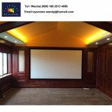 Популярные продажа HD 200-дюймовый экран проектора с фиксируемой рамой для использования внутри помещений