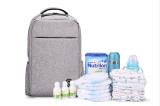 Sac Yf-Pb0060 de bébé de sac de la mère du double d'épaule de sac de maman papa de grande capacité multifonctionnel de lait