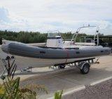 Do barco rígido da velocidade de Liya 10persons barcos de patrulha militares para a venda