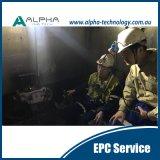 Sistema teledirigido tele de la inteligencia de la mina para el cargador subterráneo