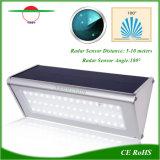 Lampada senza fili di External del sensore di movimento del radar di lumen di illuminazione solare alta