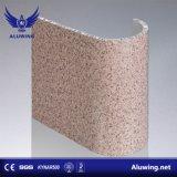 Matériau de construction incombustible pour Honeycomb mur rideau en aluminium
