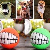 Haustier-Hundewelpen-Zähne Belüftung-Kauen-Kugel spielt die fehlerfreie Neuheit, die lustige Spielwaren spielt