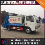 5cbm Dongfengの自動ローディングのガーベージのコンパクターのトラック